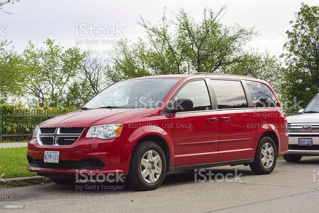 Dodge Grand Caravan stock photo