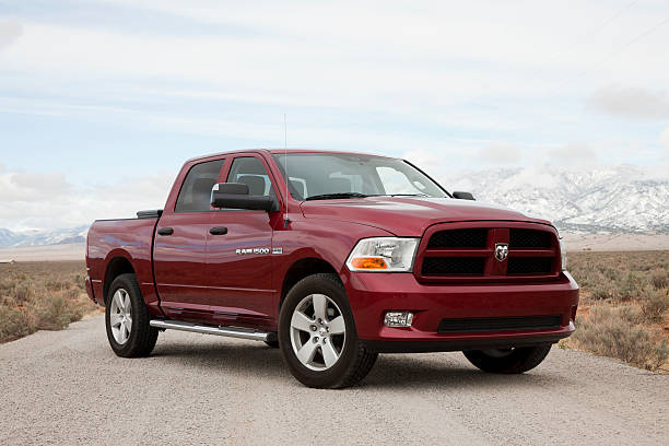 Dodge Ram 1500 Express Truck 2012 with Hemi  2012 stock pictures, royalty-free photos & images