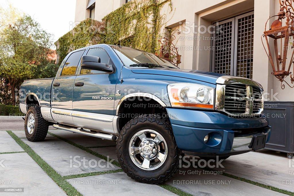 Dodge Ram 2006 stock photo