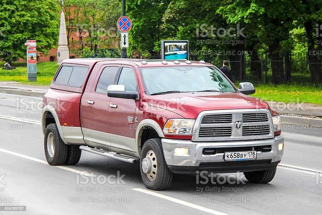 Dodge Ram stock photo