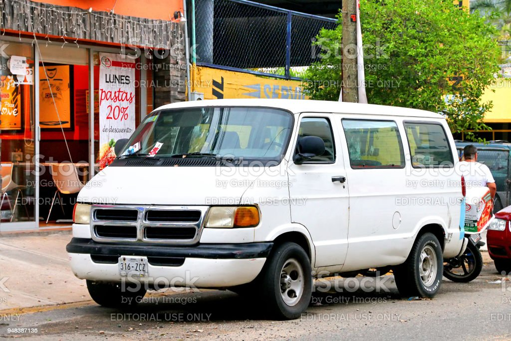 Dodge Ram Van stock photo