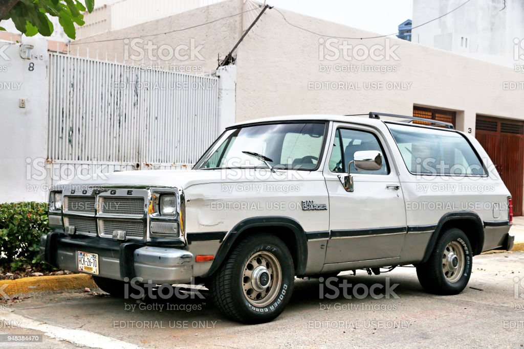Dodge Ramcharger stock photo
