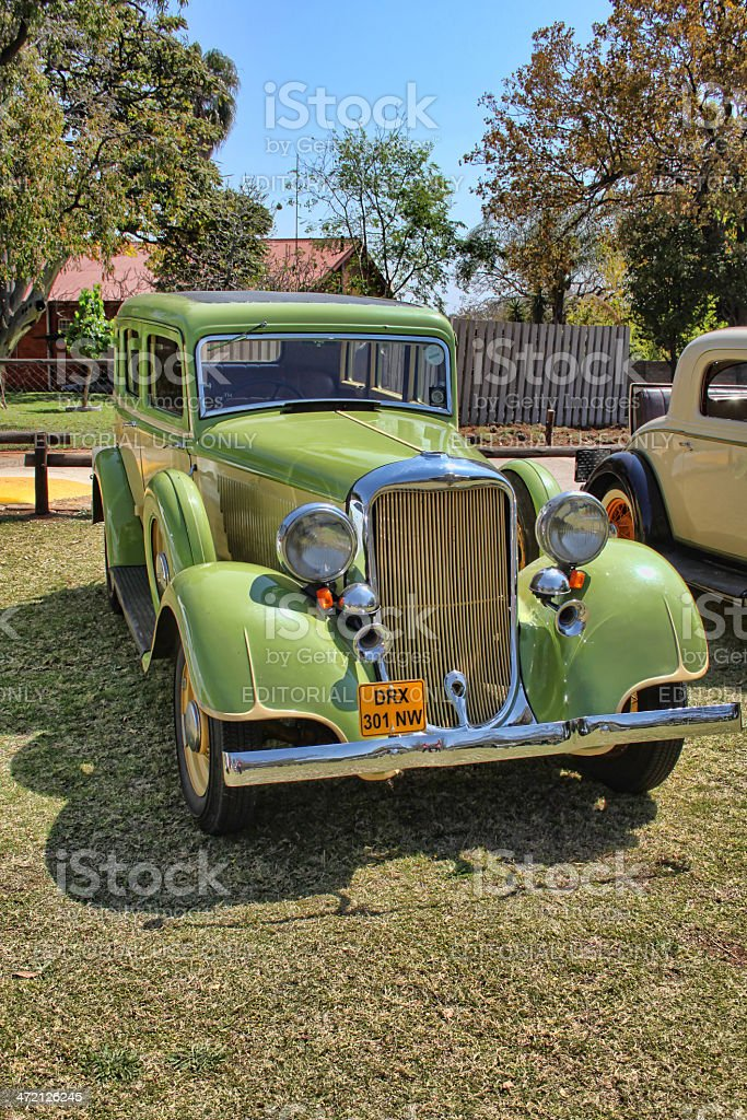 1933 Dodge Six Series DP Sedan royalty-free stock photo