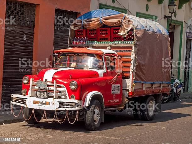 Dodge Stake Bed Truck, Cartagena, Colombia