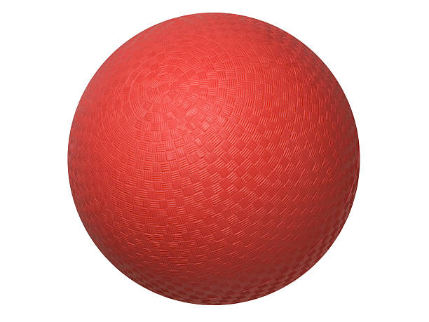 Dodgeball stock photo