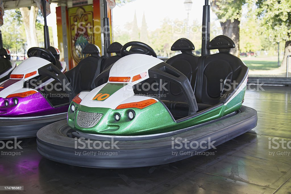 Dodgem im Freizeitpark – Foto