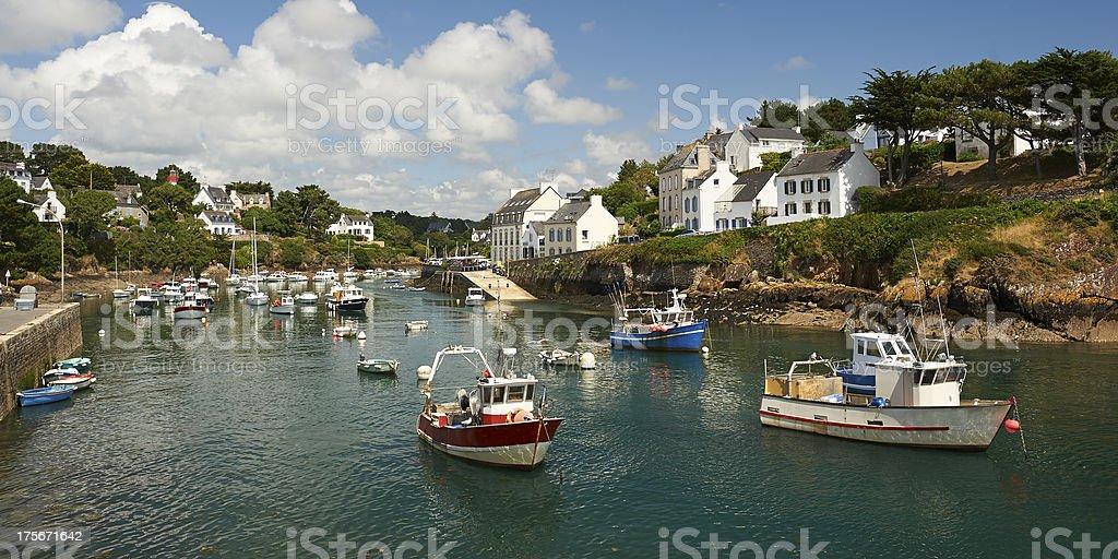 doelan Hafen le pouldu in der Bretagne – Foto