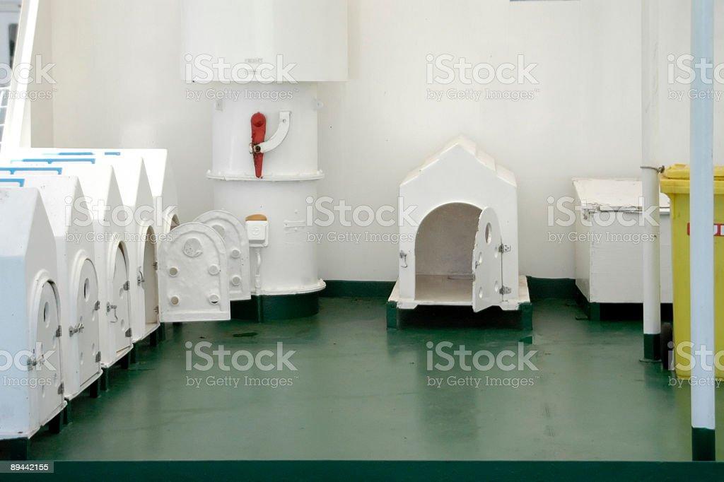 Dog City royalty-free stock photo
