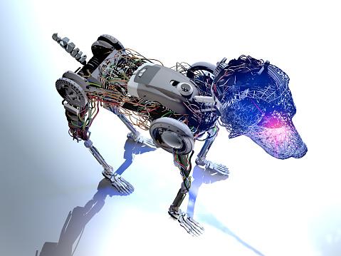 New generation animal cyborg of the future.