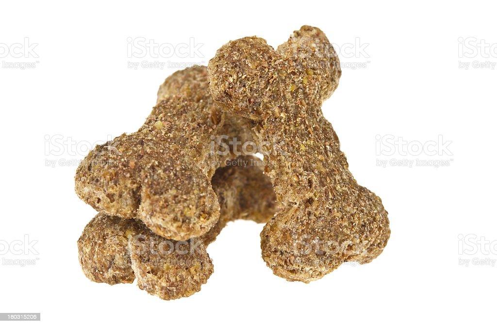 Dog food isolated royalty-free stock photo
