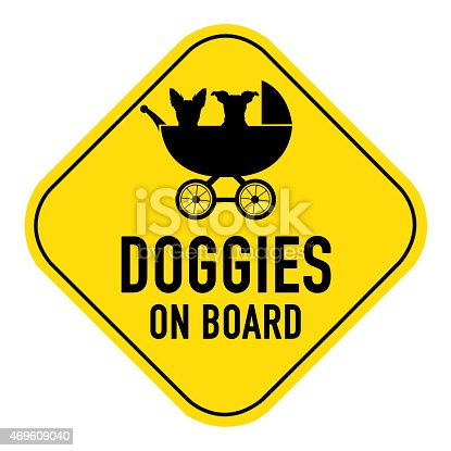 istock dog on board sign 469609040