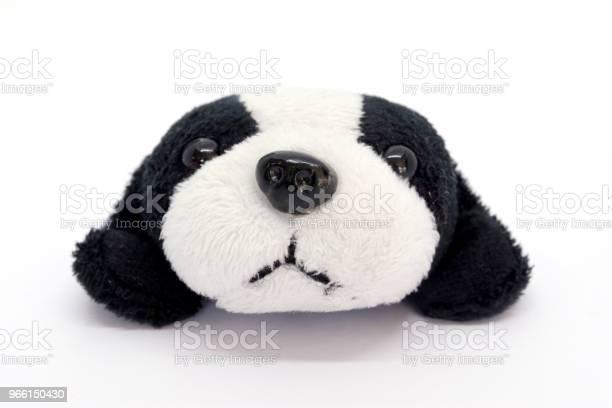 Cane Su Sfondo Bianco - Fotografie stock e altre immagini di Bambola - Giocattolo