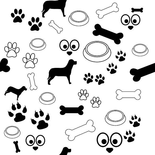 Dog pattern black and white picture id507796791?b=1&k=6&m=507796791&s=612x612&w=0&h=nixryqcvxnagenjozfwnpbrrtor5syxknki1enjjyta=