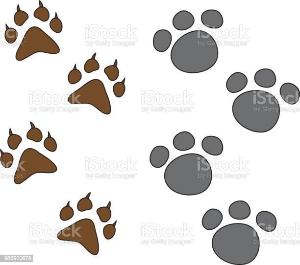 Dog paw set isolated picture id983920676?b=1&k=6&m=983920676&s=612x612&h=rlunp9mnhfodwylo4mfps2pxoxb2p8q6h7bytwtz1my=