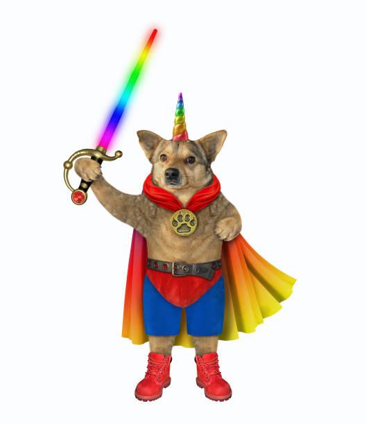 Dog super unicorn with sword picture id1175294182?b=1&k=6&m=1175294182&s=612x612&w=0&h=sr437q1ecsx auhkg6hwzgfsrsgb4py ivdh1sqv5fs=