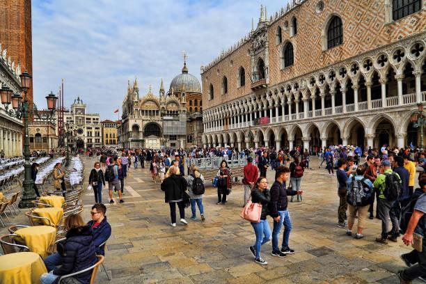Doge Palast von San Marco in Venedig, Italien – Foto