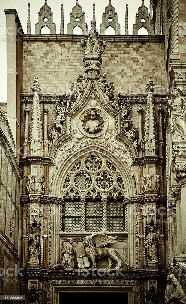 Palacio ducal Fachada foto de stock libre de derechos
