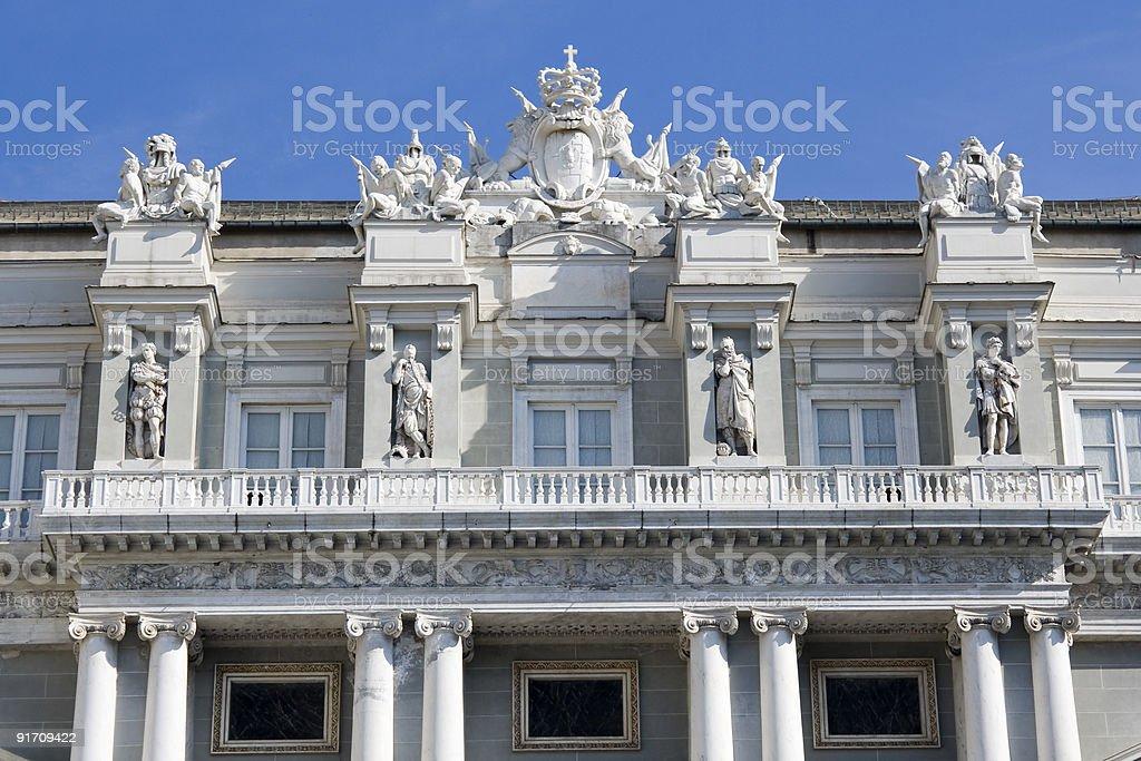 Doges Palace - Genoa royalty-free stock photo
