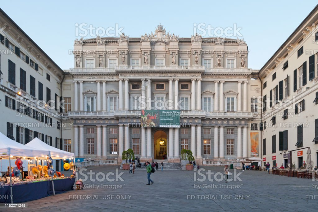 Doge's Palace in Genoa - Royalty-free Ancient Stock Photo