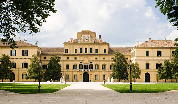 Palazzo Ducale in Parma. stock photo