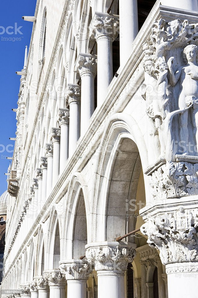 Doges Palace in Venice, Italy royalty-free stock photo