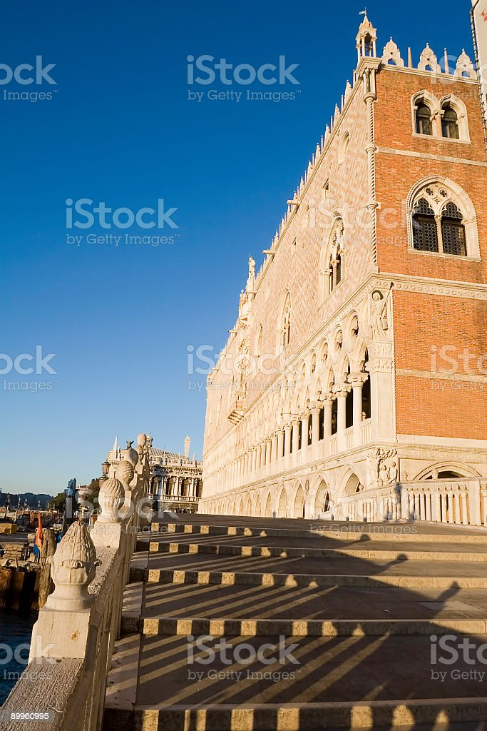 Palazzo Ducale in Venice royalty-free stock photo