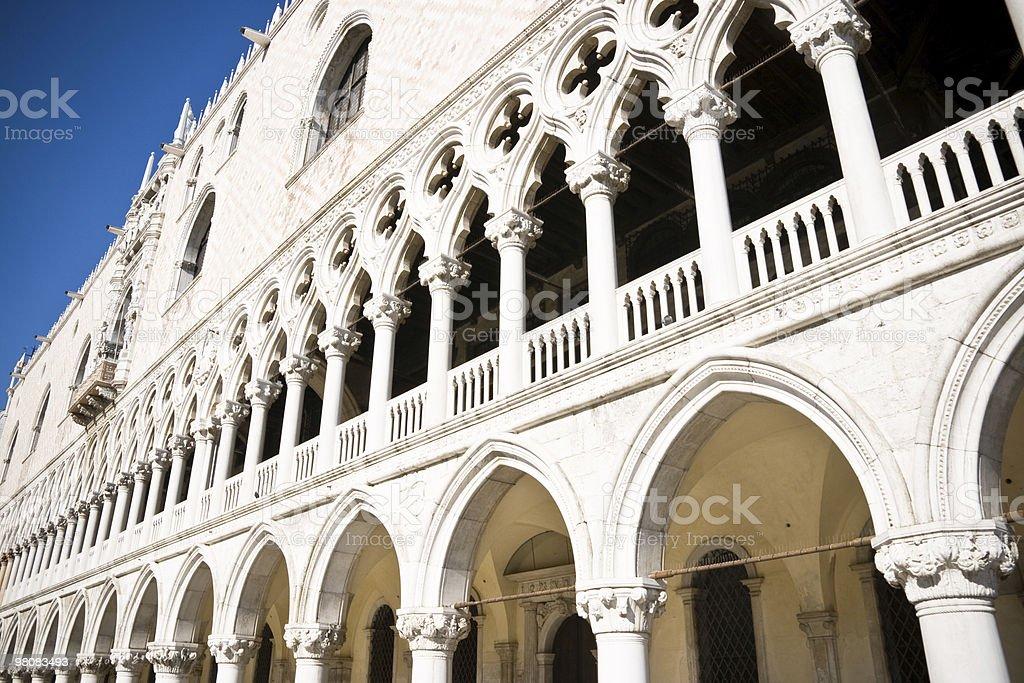 Palazzo Ducale-Venezia a Venezia foto stock royalty-free