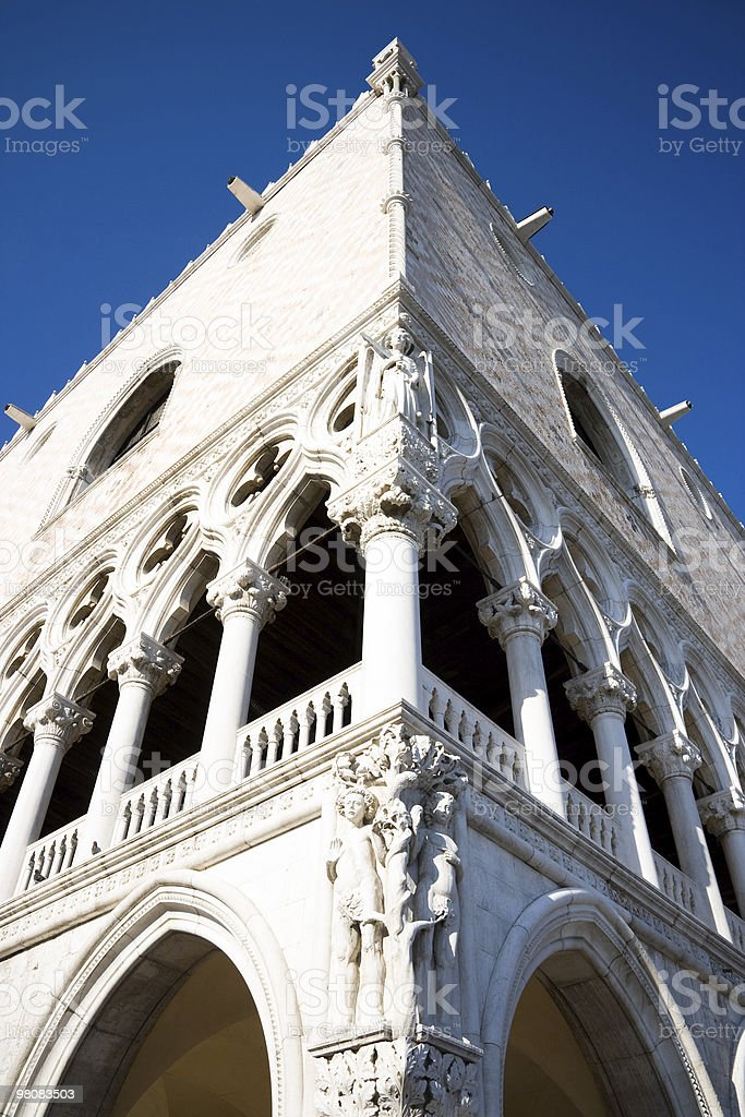 Doges Palace in Venice royalty-free stock photo