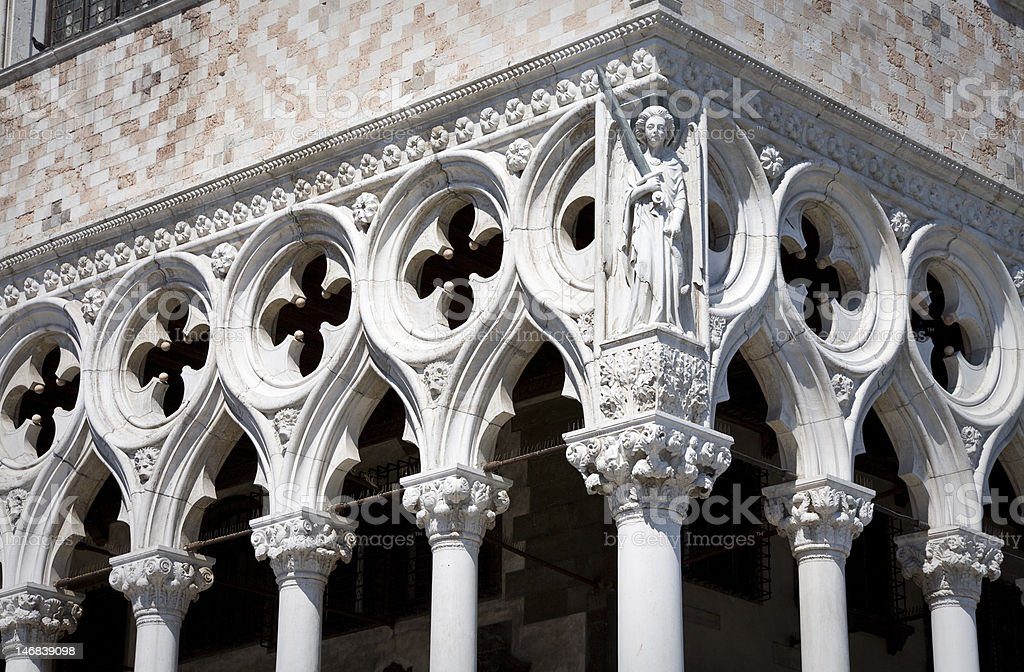 Palazzo Ducale royalty-free stock photo