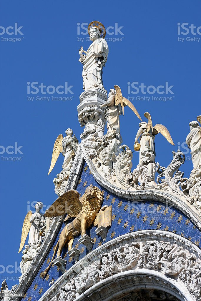 Palazzo Ducale stock photo