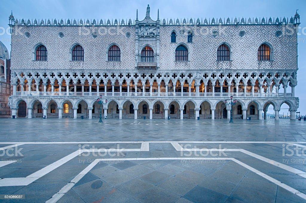 Doge's Palace, Venice stock photo