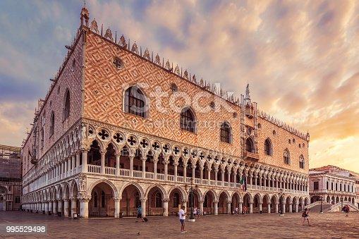 istock Doge's Palace, Venice 995529498
