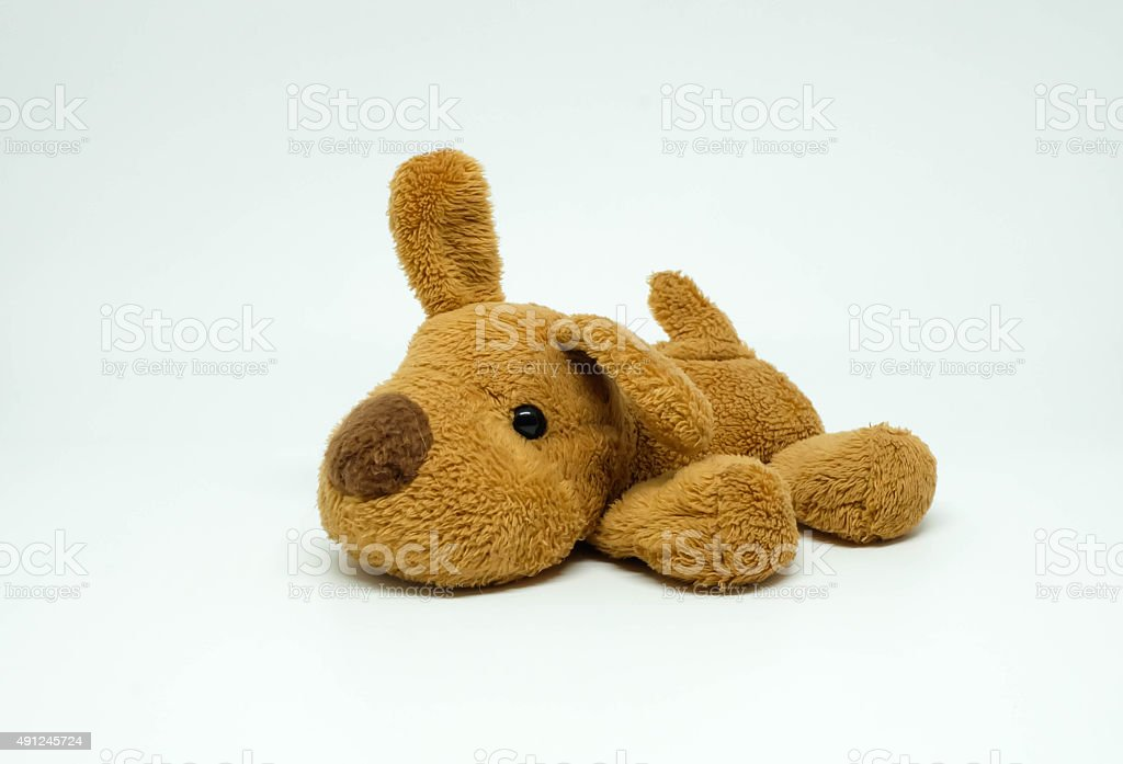 Doggy toy doll stock photo