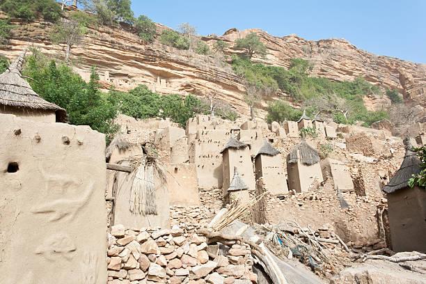 Dogon village, Mali (Africa). stock photo