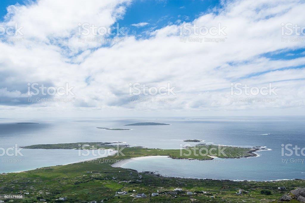 Dogs Bay, Roundstone, Connemara, Galway, Ireland stock photo