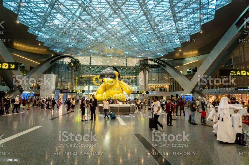 Aeroporto Del Qatar : Fotografía de aeropuerto internacional doha hamad qatar
