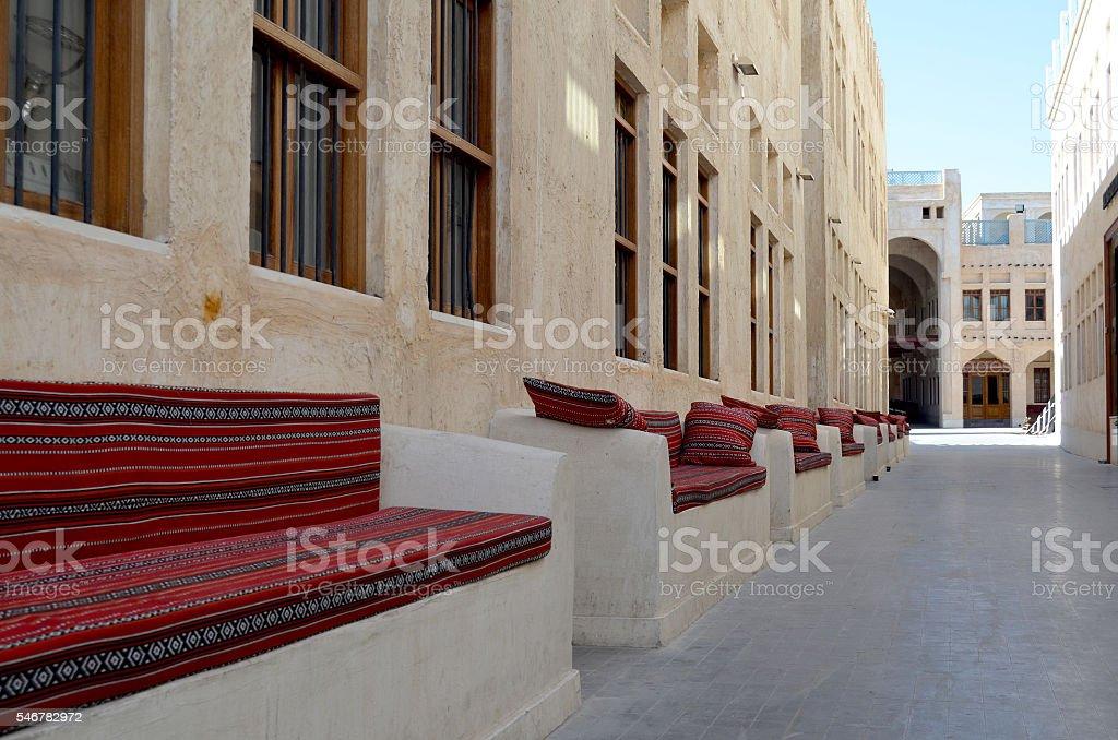doha, qatar stock photo