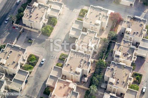 istock Doha, Qatar Suburb from Above 1137762043