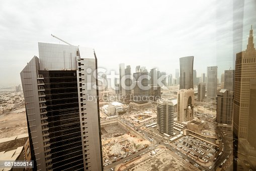 doha skyline during the day