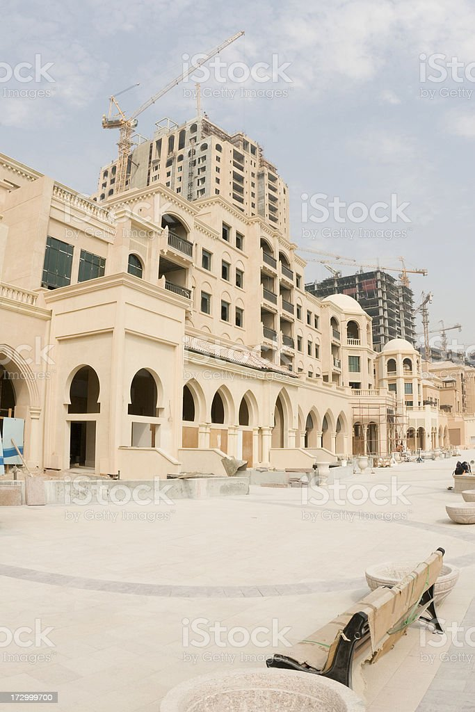 Doha: The Pearl royalty-free stock photo