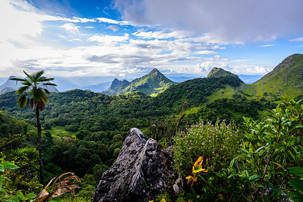 Doi Luang Chiang Dao Doi Luang Chiang Dao taoism stock pictures, royalty-free photos & images
