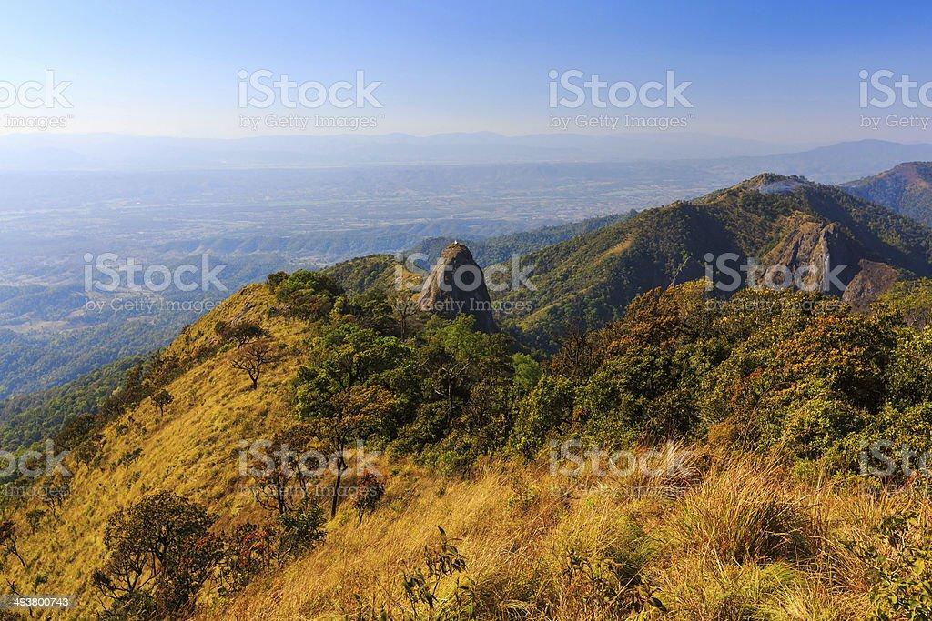 Doi Luang-Park Lizenzfreies stock-foto