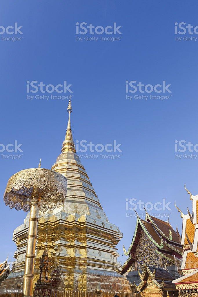 Doi Suthep Temple in Chiang Mai Thailand royalty-free stock photo