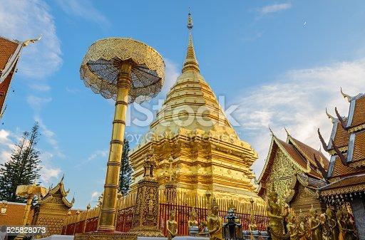 istock Doi Suthep temple, landmark of Chiang Mai, Thailand 525828073
