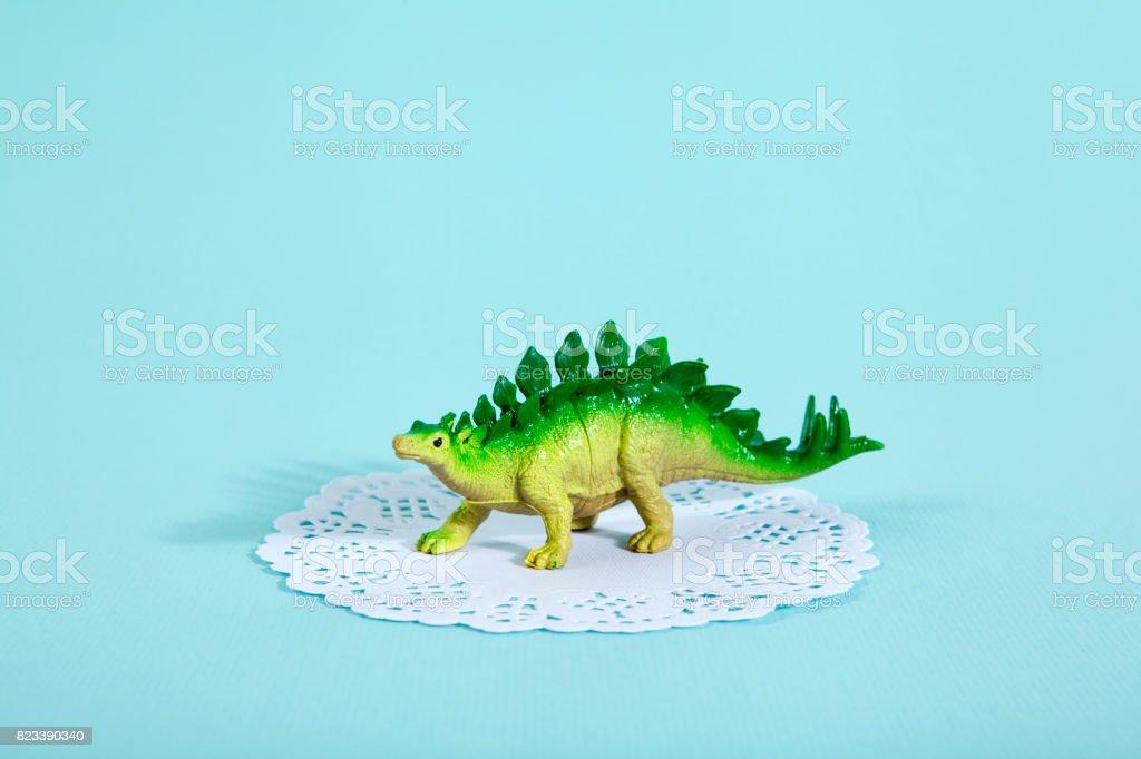 estegossauro guardanapo - foto de acervo