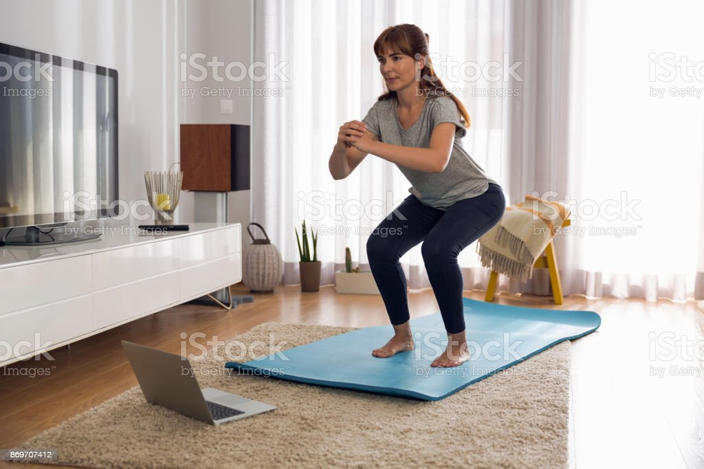 Beim Trainieren Sie wie zu Hause fühlen. – Foto