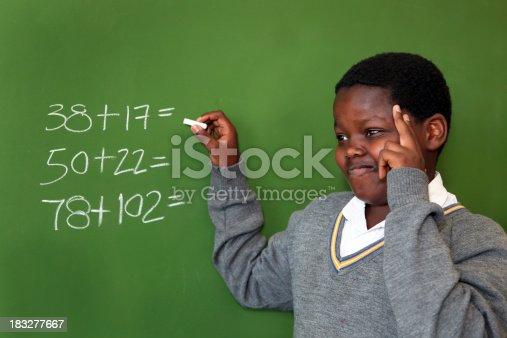 istock Doing maths 183277667