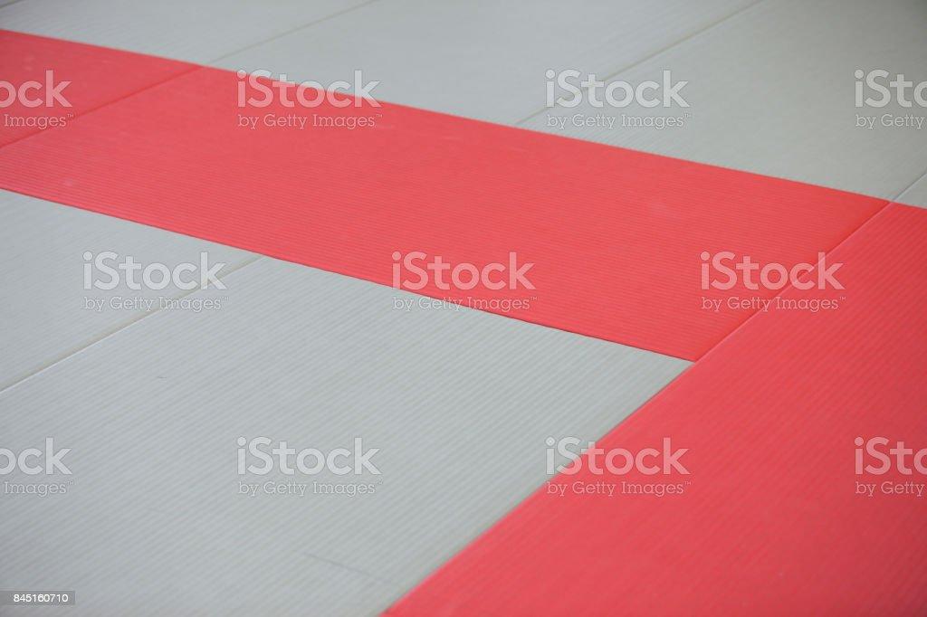 Dojo mats stock photo