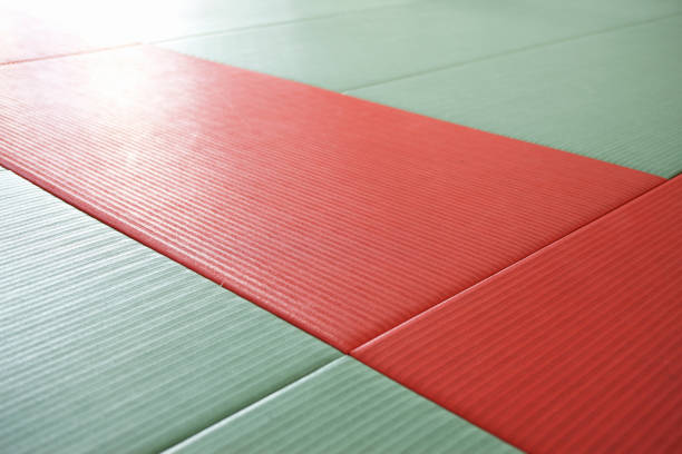 道場の畳 - 畳 ストックフォトと画像