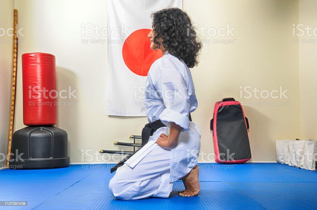 Dojo Tradition stock photo